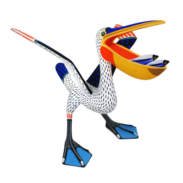 Luis Pablo: Pelican with Fish