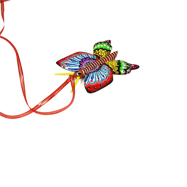 Claudia Jimenez: Butterfly Necklace