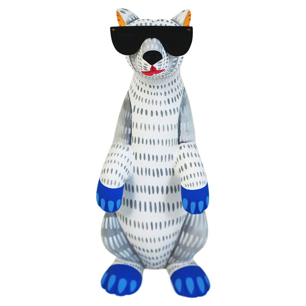 Luis Pablo: Cool Bear with Sunglasses