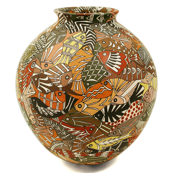 Manolo Rodriguez: Escher Fish Olla