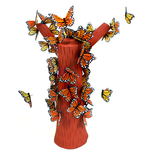 Luis Pablo: Monarch Butterlies. Impressive Work of Art