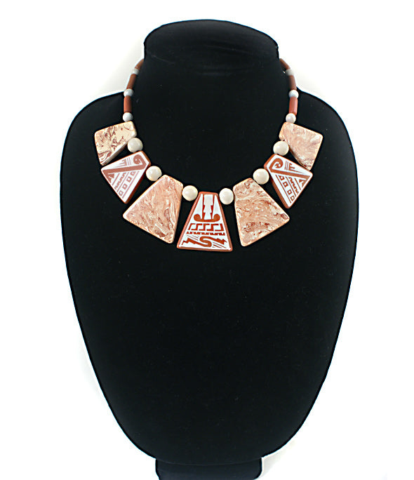 Delia Rojas: Mata Ortiz Jewelry Necklace