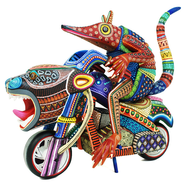 Manuel Cruz: Large Armadillo Easy Rider Masterpiece
