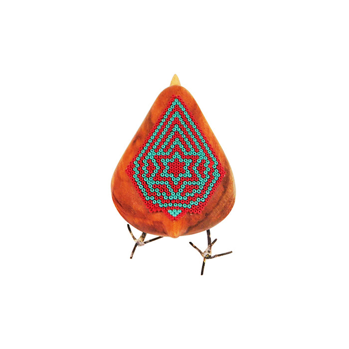 Huichol Little Beaded Star Joy Bird