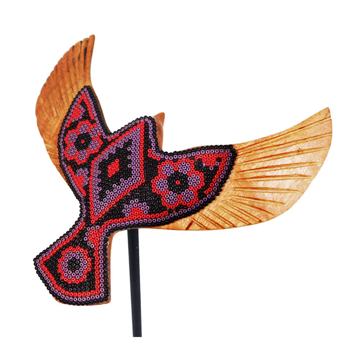 Huichol: Flying Dove