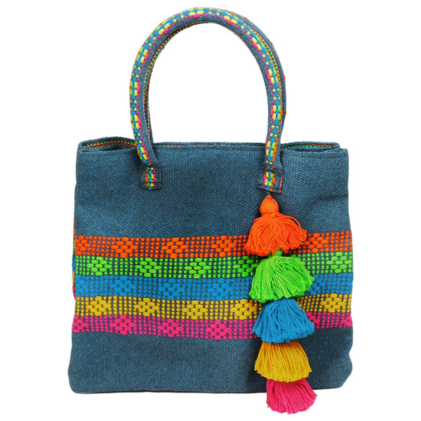 Blue Multicolor Purse Jalieza