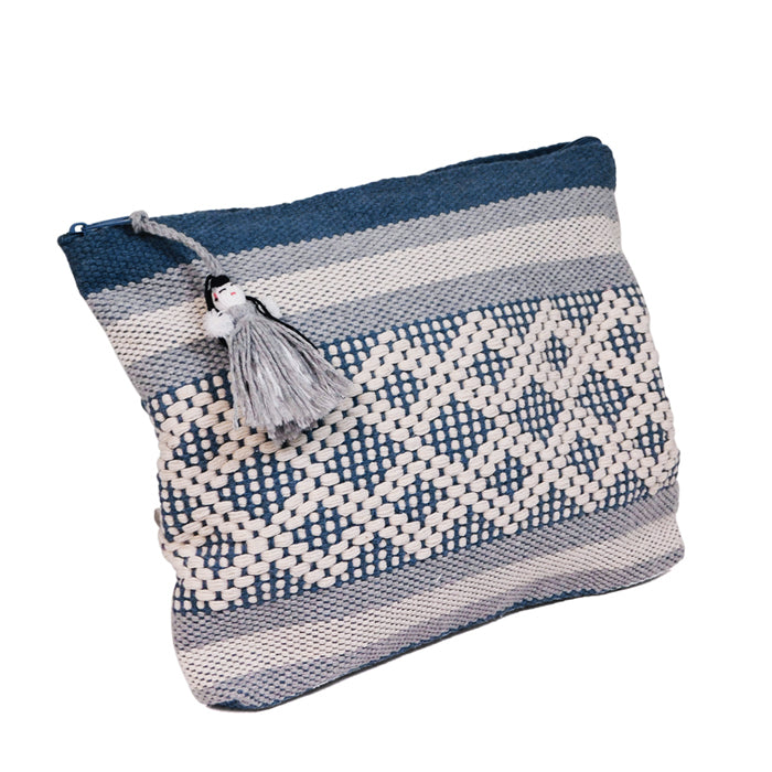 Bag Jalieza  Blue Double Fretwork