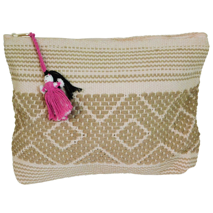 Handwoven Bag Jalieza  Beige-Cream