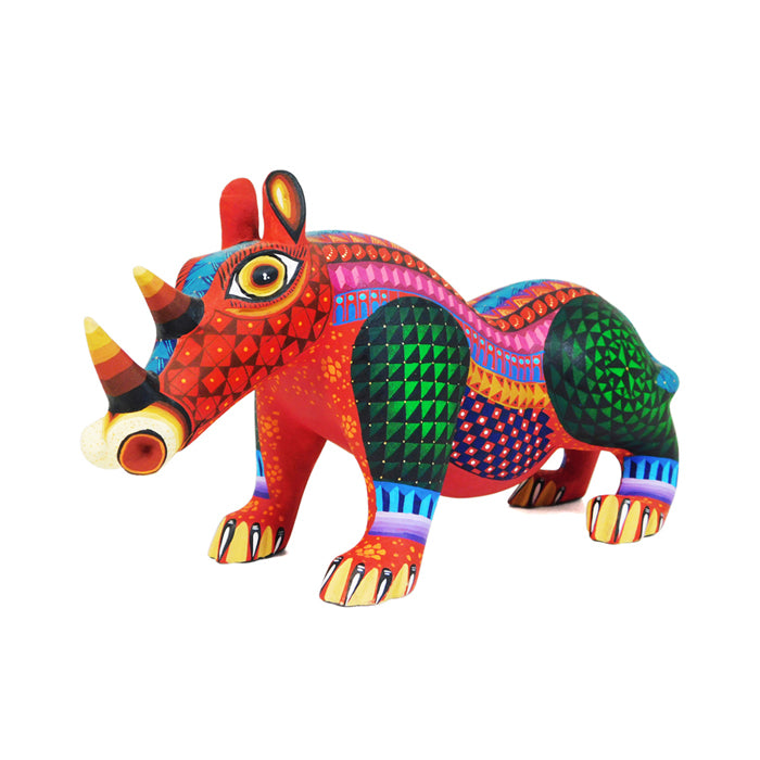 Ivan Fuentes: Colorful Rhino
