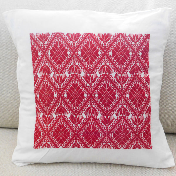 Hand Embroidered Cushion Atla