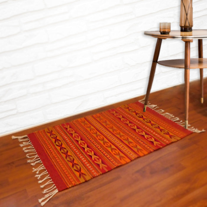 Wool Rug: Sunset Teotitlan