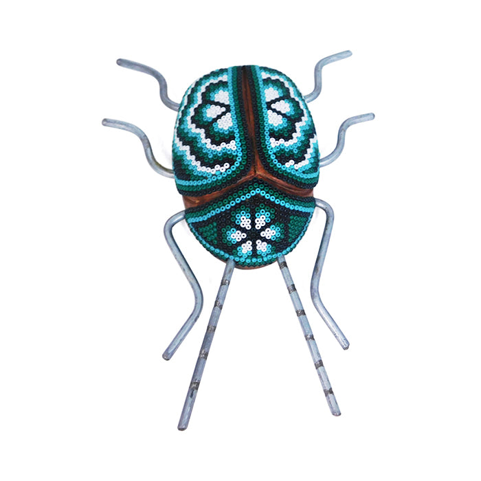 Huichol: Peyote Good Luck Beetle