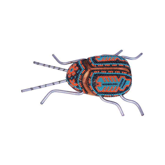 Huichol: Good Luck Scorpion Beetle