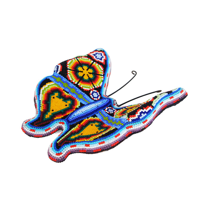 Huichol: Wall Hanging Butterfly