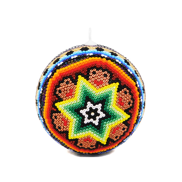 Huichol: Christmas Star Sphere