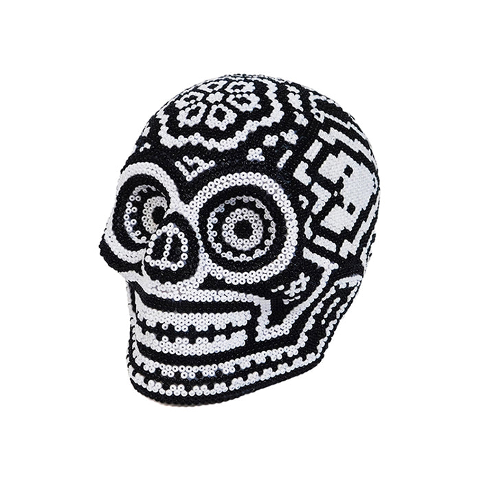 Huichol: Contemporary Day of the Dead Skull