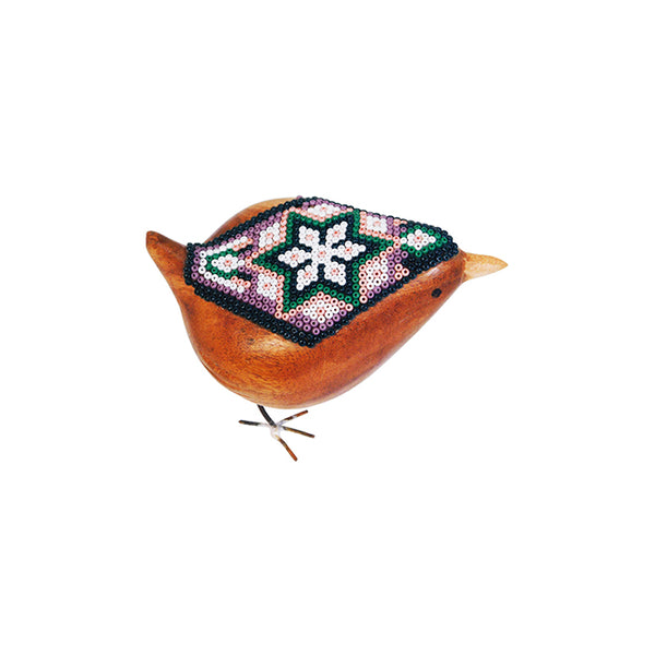 Huichol: Joy Beaded Bird