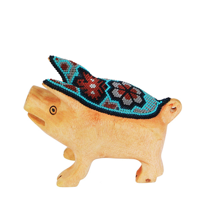Huichol Happiness Pig