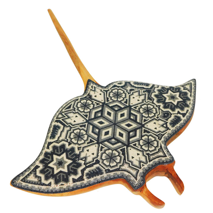 Huichol: Cream & Black Wall Stingray