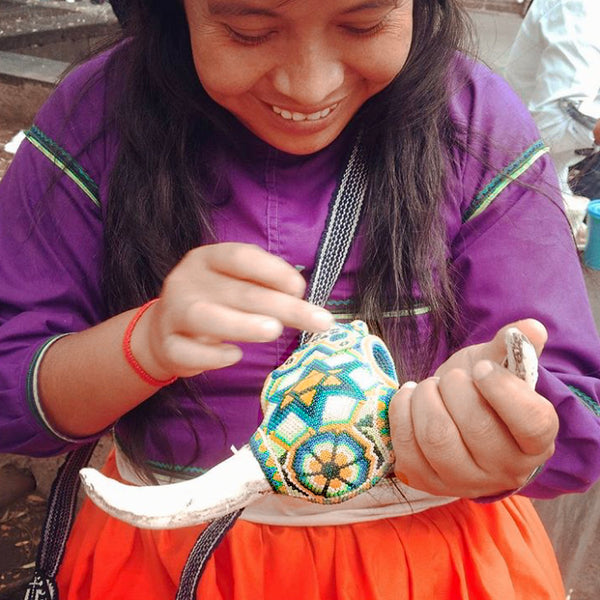 Huichol: Little Fish