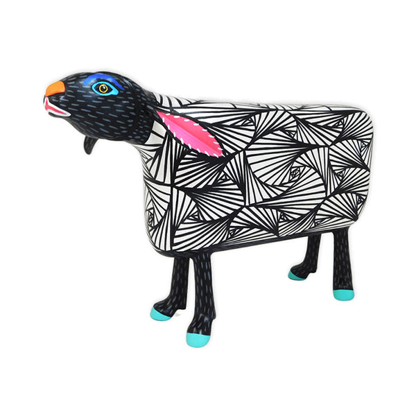 Luis Pablo: Op-Art Sheep