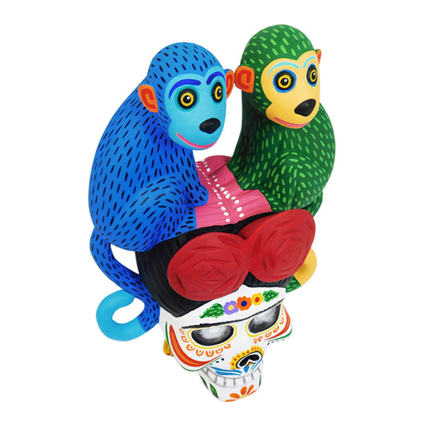 Luis Pablo: Frida and Monkeys One Piece Wall Hanging