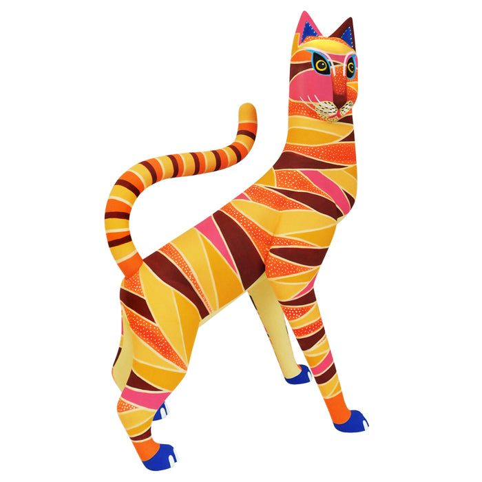 Luis Pablo: Stripped Cat ~ Stylized Series