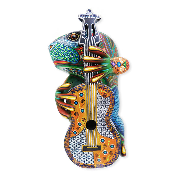 Manuel Cruz: Fantastic Frog with Guitar
