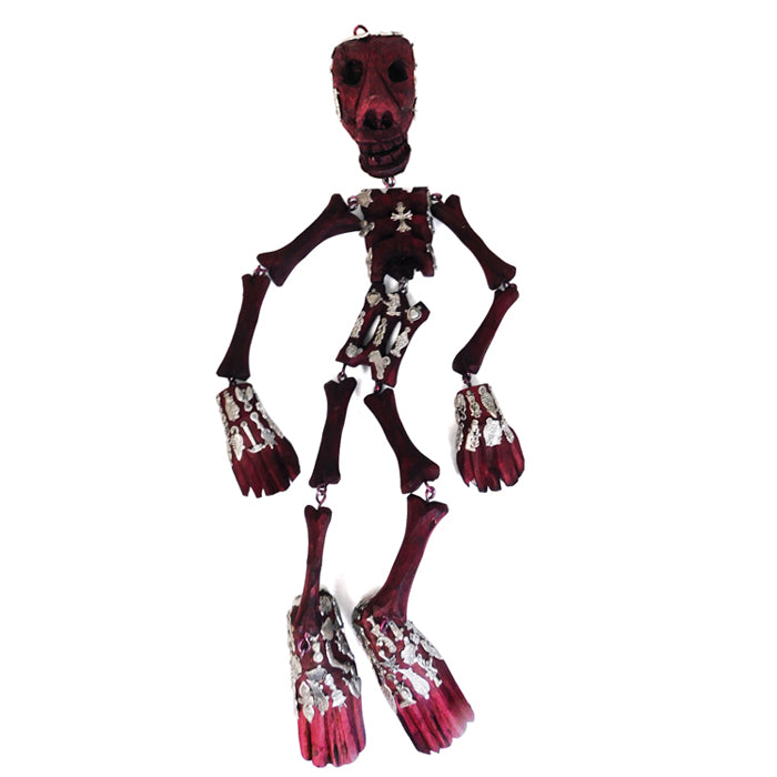 Milagros: Articulated Wall Hanging Skeleton