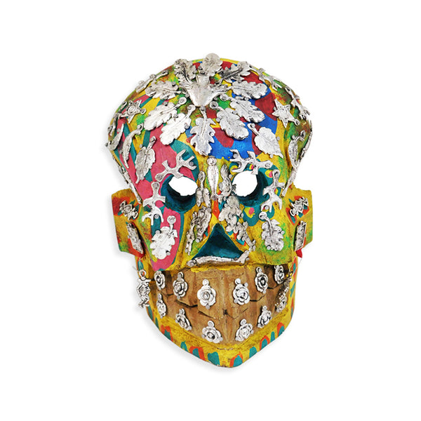 Day of the Dead: Leaves Milagros Skull