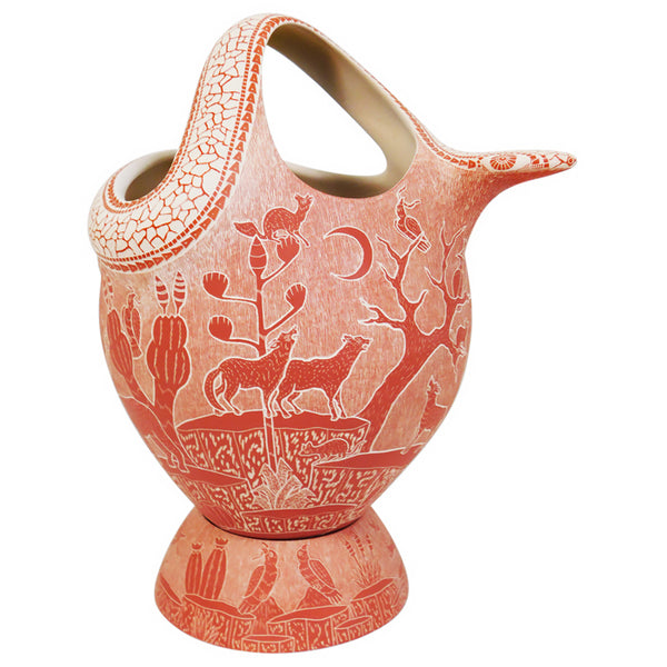 Olivia Dominguez: Splendid Rose Snake Olla