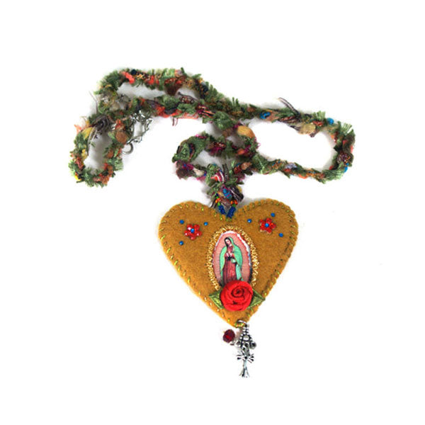 Our Lady of Guadalupe Felt Medal