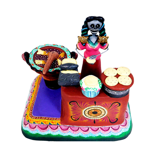 Saul Montesinos: Day of the Dead Mole Poblano Scene