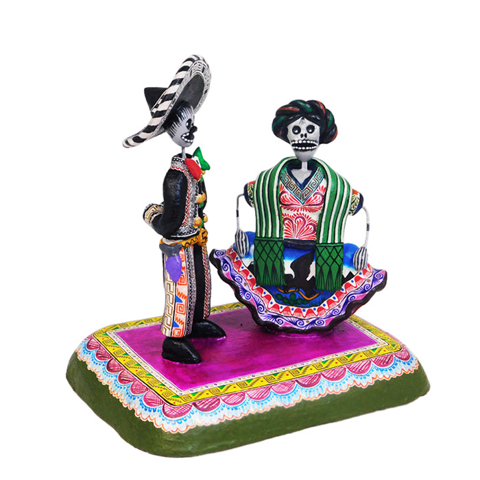 Saul Montesinos: Jarabe Tapatio Skeletons Dance
