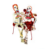 Mario Saulo Moreno: Skeleton Lovers in the Park