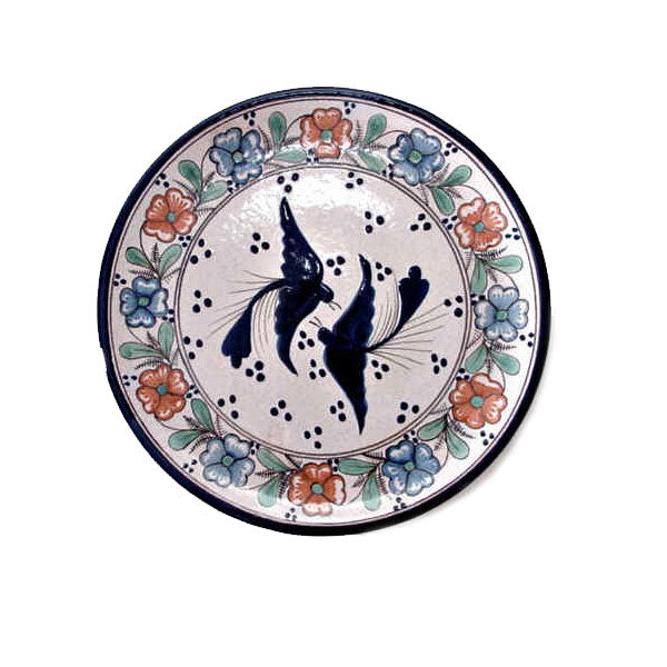 Two Birds Talavera Plate