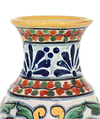 Authentic Talavera Flower Vase