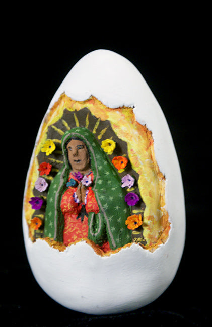 Gabino Reyes: Our Lady of Guadalupe Wood Carving