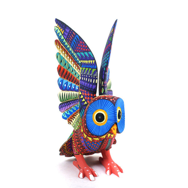 Mario Castellanos: Multicolored Owl