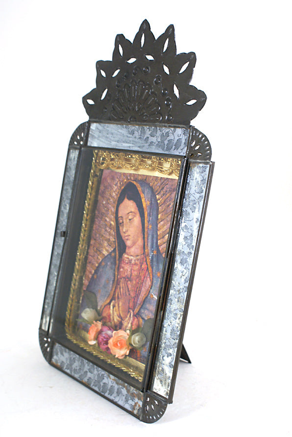 Our Lady of Guadalupe Tin Niche