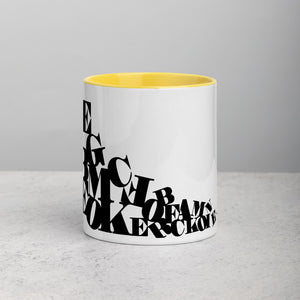 Fonts Coffee Mug - Design For Dinner
