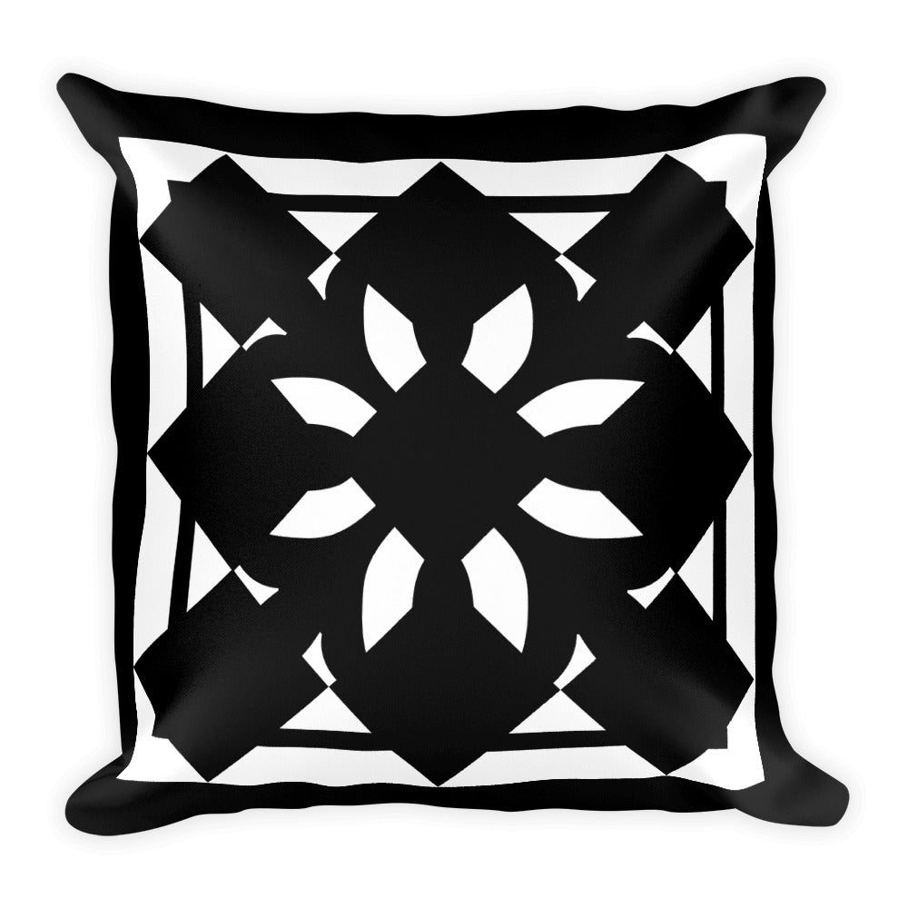 Geom Pillow B&W - Design For Dinner
