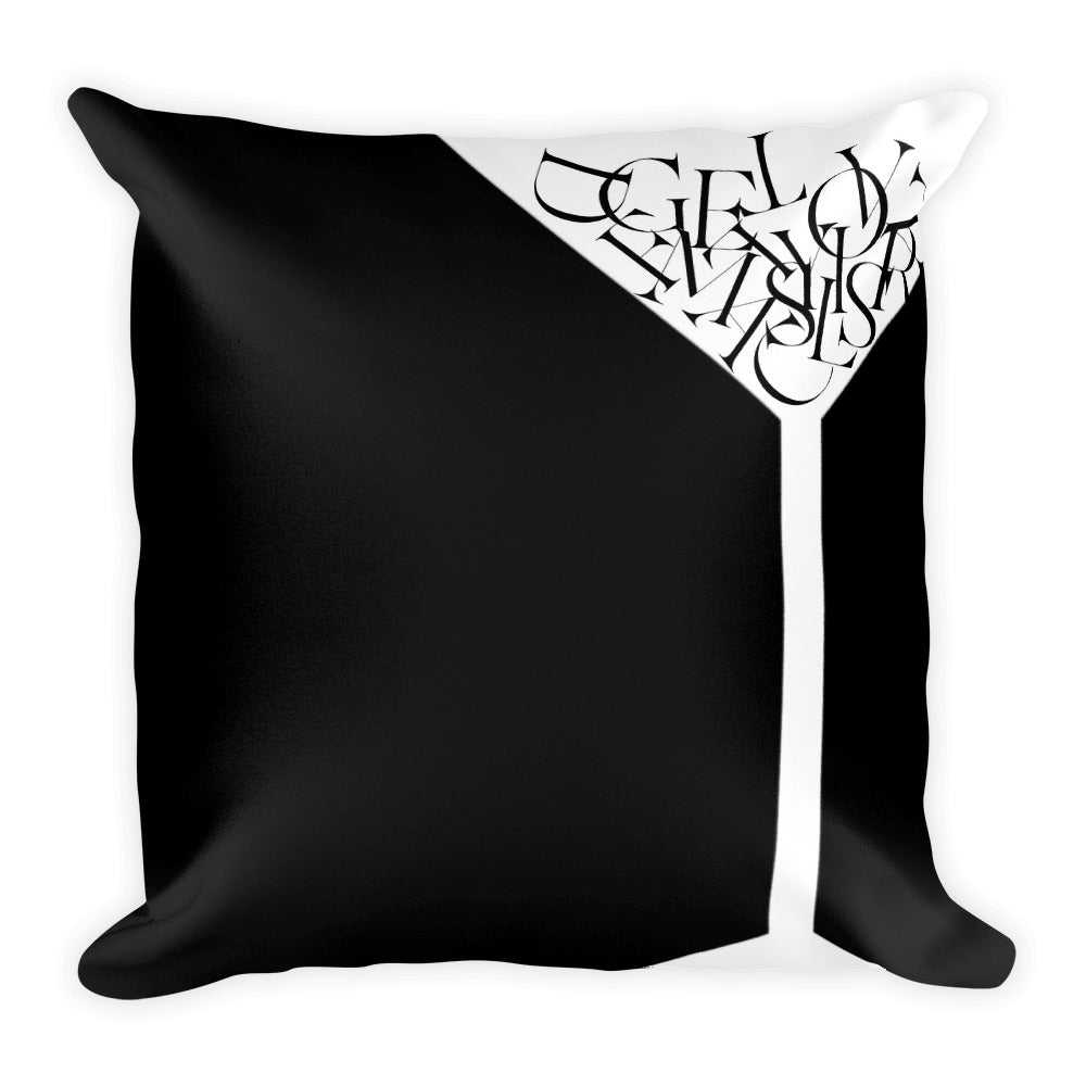 Martini Pillow - Design For Dinner