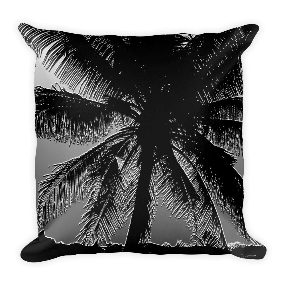 Palms Black&White Pillow - Design For Dinner