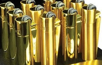 "Gold ""Clipper"" Lighters"