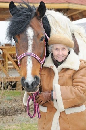Horses can give comfort to those with early onset dementia!