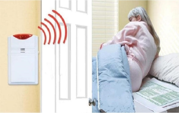 Wireless Bed Alarm With Bed Pad Amp Pager Pager Is With