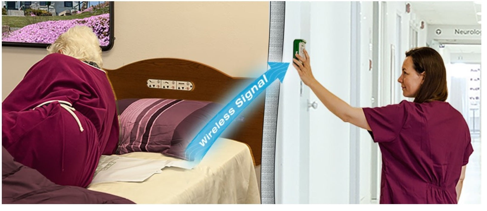 Pleasant Cordfree Alarm With Wireless Bed And Chair Pads Short Links Chair Design For Home Short Linksinfo