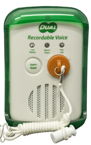 Recordable Dual Alarm - Two Alarms In One!