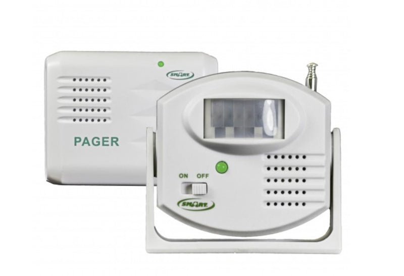 BEDSIDE MOTION SENSOR & PAGER! So you know when they are trying to get up!